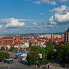 Stadtansicht Erfurt