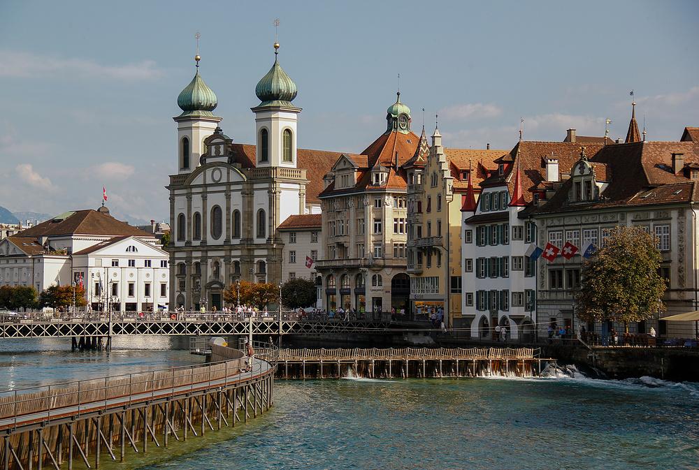 Stadtansicht in Luzern