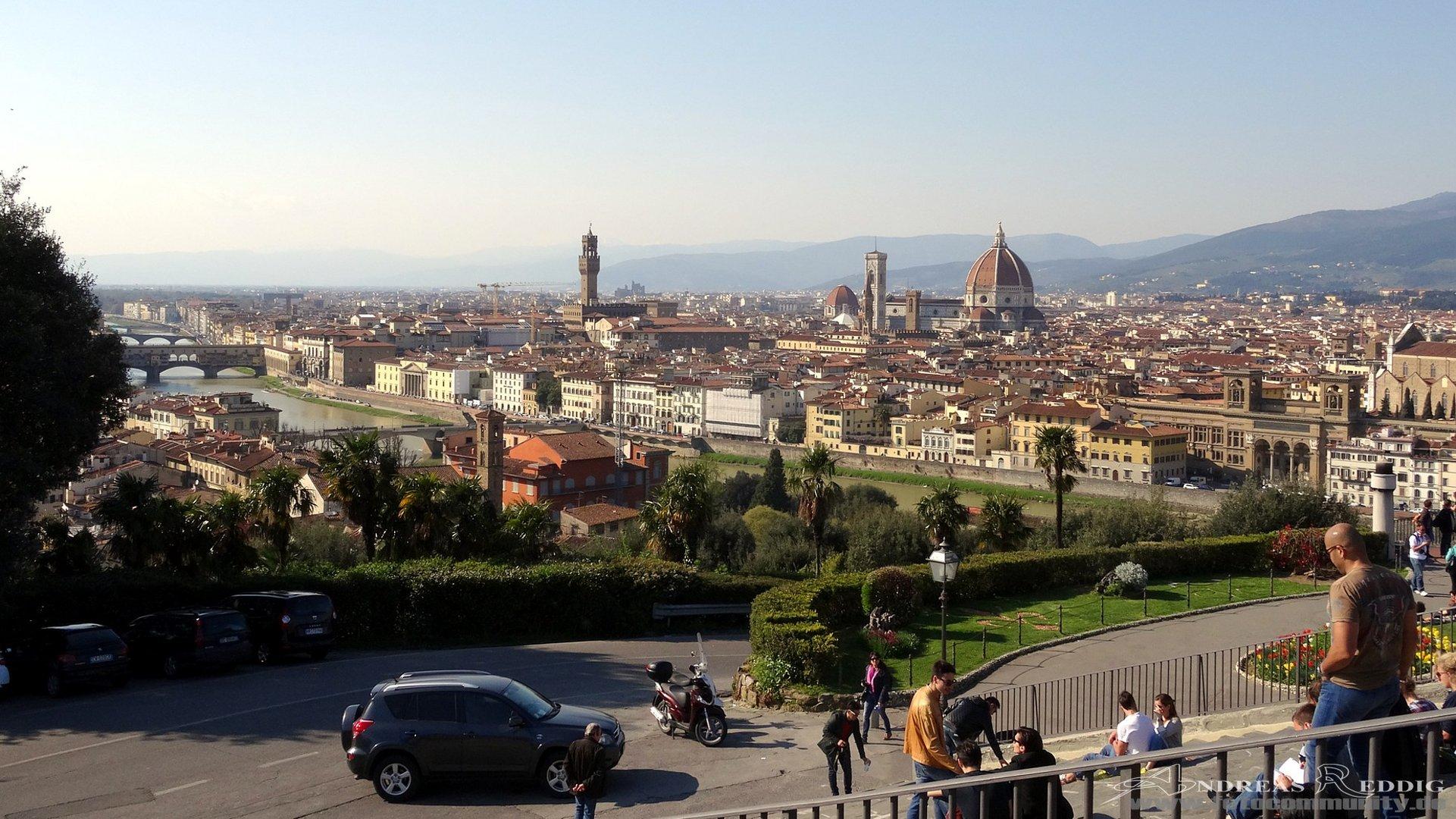Stadtansicht von Florenz - 09.04.2015