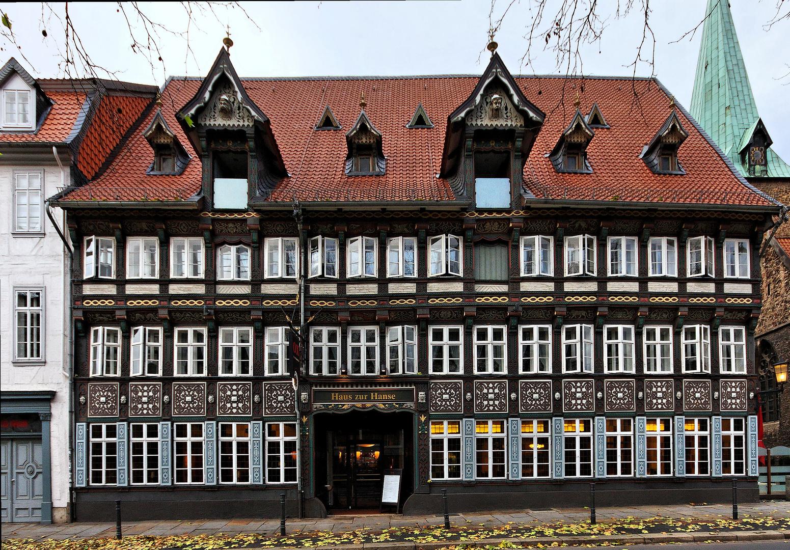 Stadtansichten - Haus zur Hanse