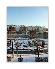 Stadtbild 56 ... schweben thru the Bayerwerk (a Wuppertaler winter scene)