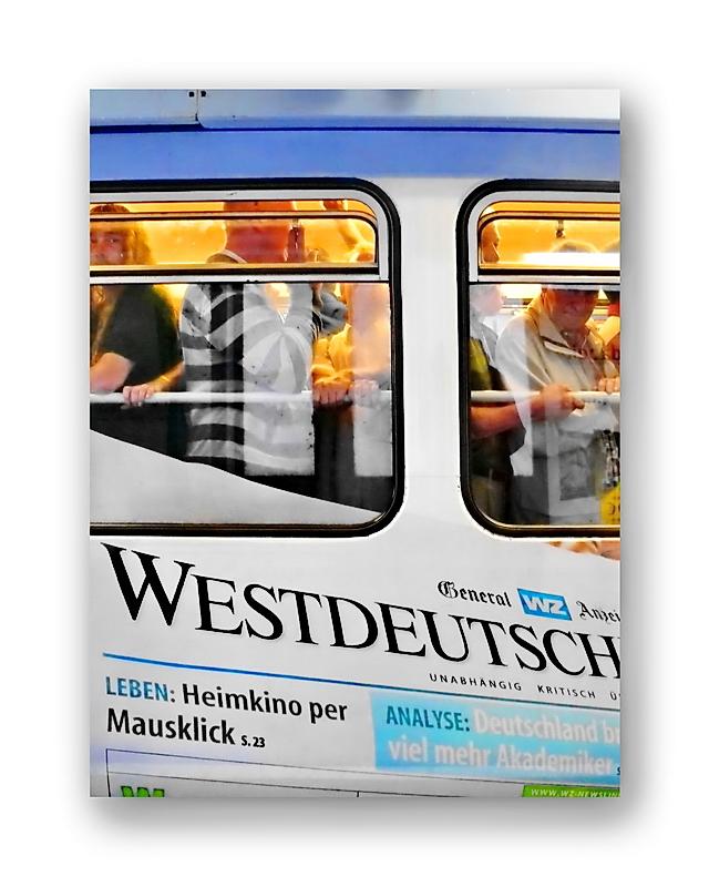 Stadtbild 62 ... die Schwebebahn prägt seit 1903 das Stadtbild Wuppertals