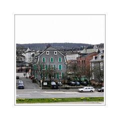 Stadtbild Wuppertal 04 ( Engelshaus in  Wiuppertal Barmen)