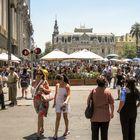 Stadtbummel durch das heiße Santiago