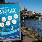 Stadtbummel in Basel am Rhein