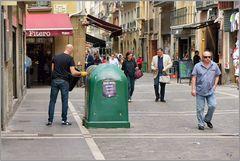 Stadtbummel in Pamplona
