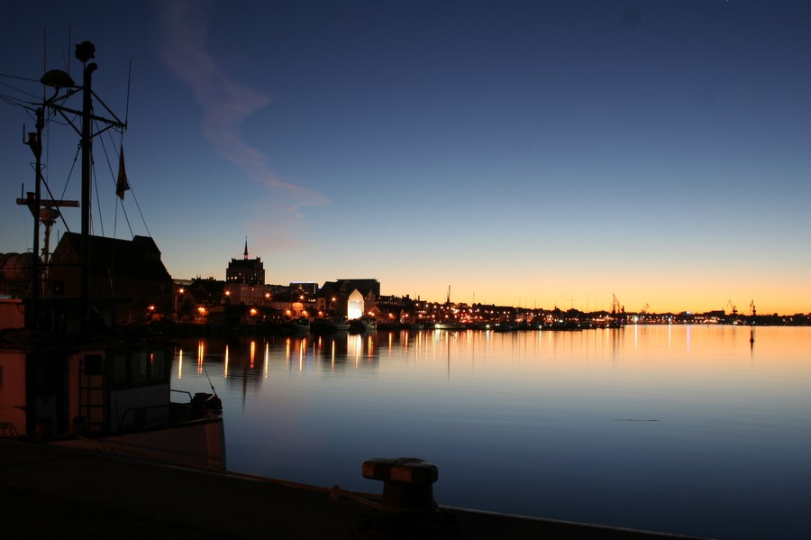 Stadthafen in Rostock