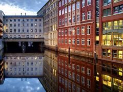 Stadthausbrücke & Bleichenfleet