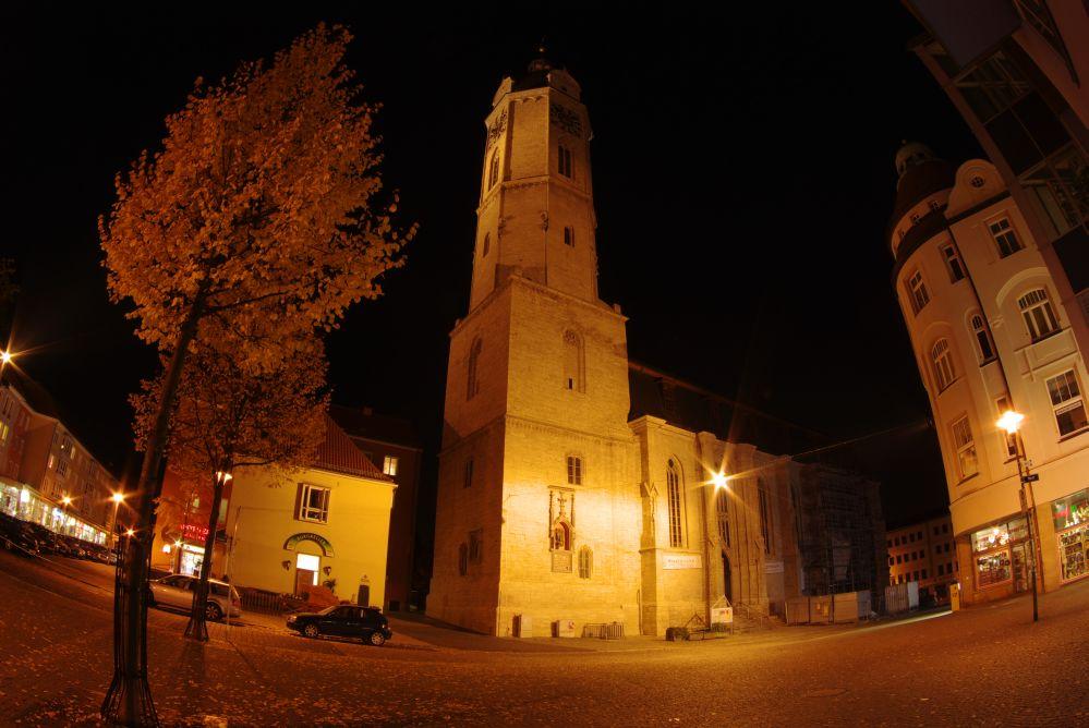 Stadtkirche St. Michael im Fischblick