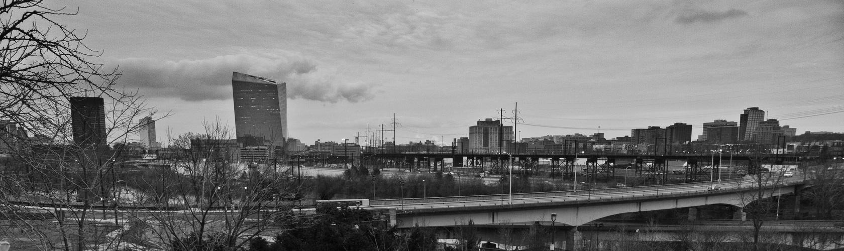 Stadtlandschaft in Philly