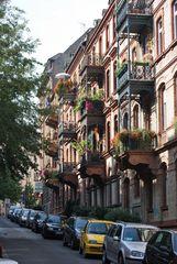 Stadtlandschaft in Wiesbaden