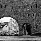 Stadtmauer am Burgtor Kloster Lübeck