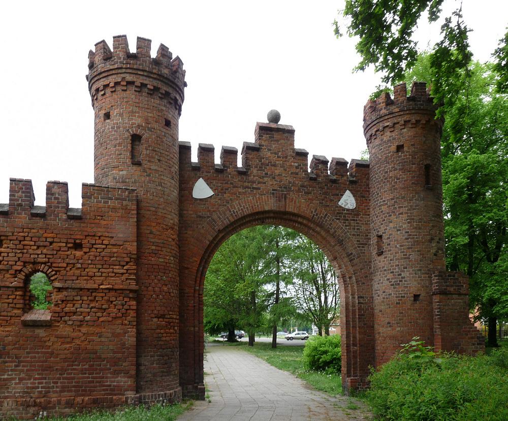 Stadtmauerrest / Gubin/ Polen