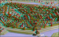 Stadtmodell Hannover 1 - 1689 (3D)