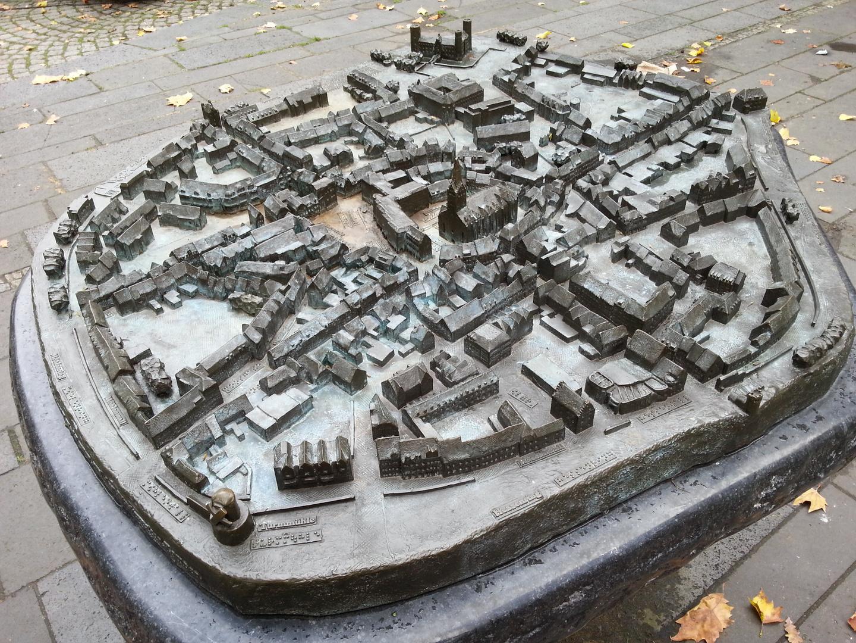 Stadtmodell von Kempen