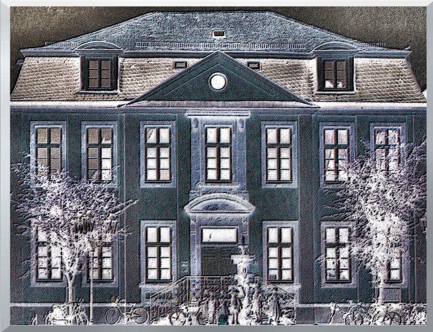 Stadtpalais im Schnee Oder?