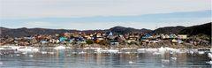 Stadtpanorama Ilulissat..