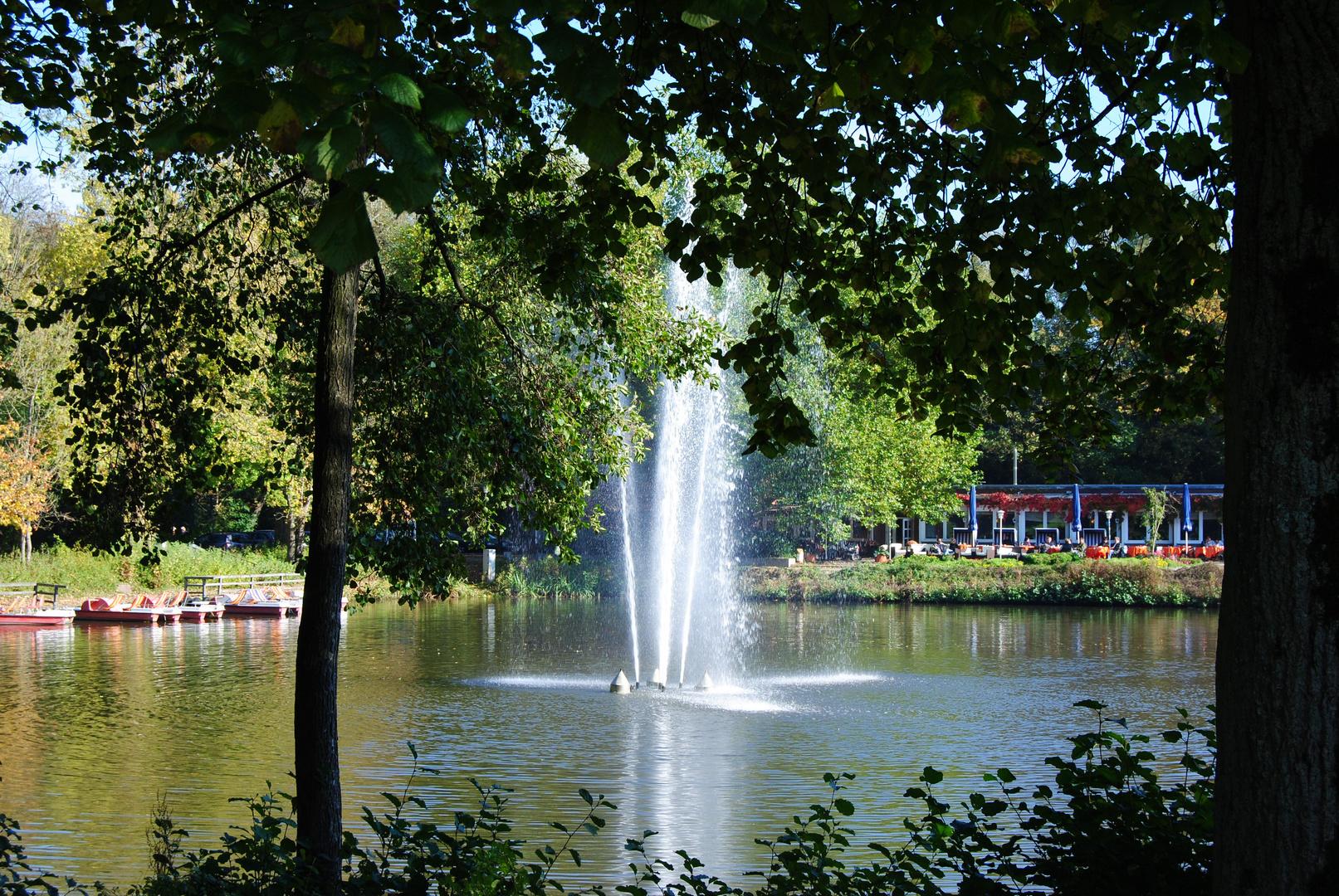 Stadtpark im Herbst