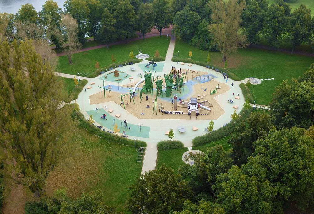 Stadtpark Rotehorn / Magdeburg