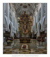 """Stadtpfarrkirche Mariä Himmelfahrt (Landsberg am Lech) """" Gott zu Gefallen... """""""