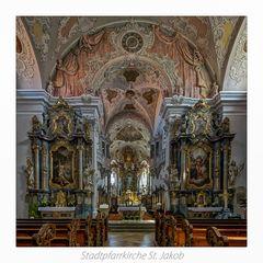 "Stadtpfarrkirche St. Jakob - Cham "" Gott zu Gefallen..."""