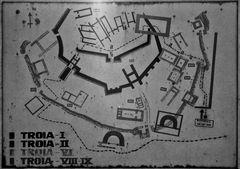 Stadtplan von Troja