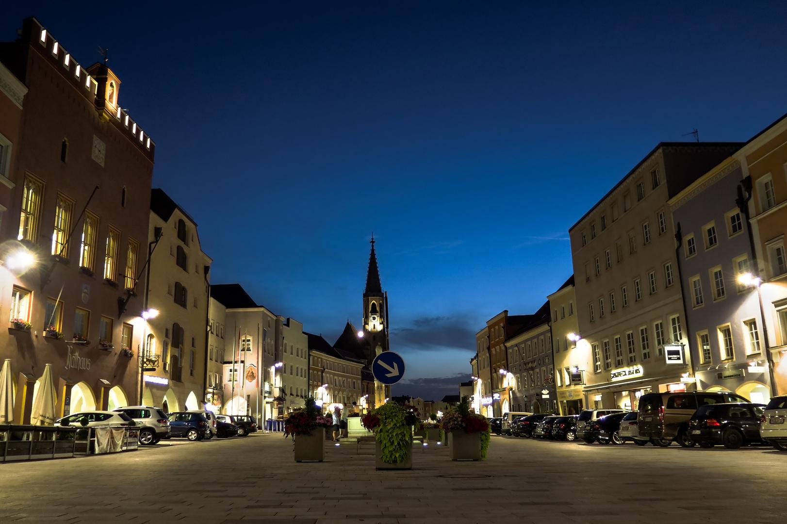 Stadtplatz Neuötting HDR
