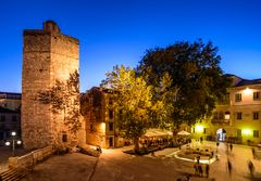 Stadtplatz, Zadar, Dalmatien, Kroatien