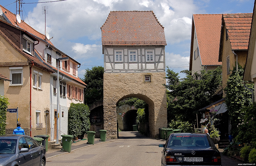 Stadttor von Kirchheim am Neckar