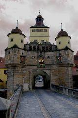 Stadttor von Weißenburg/Bayern