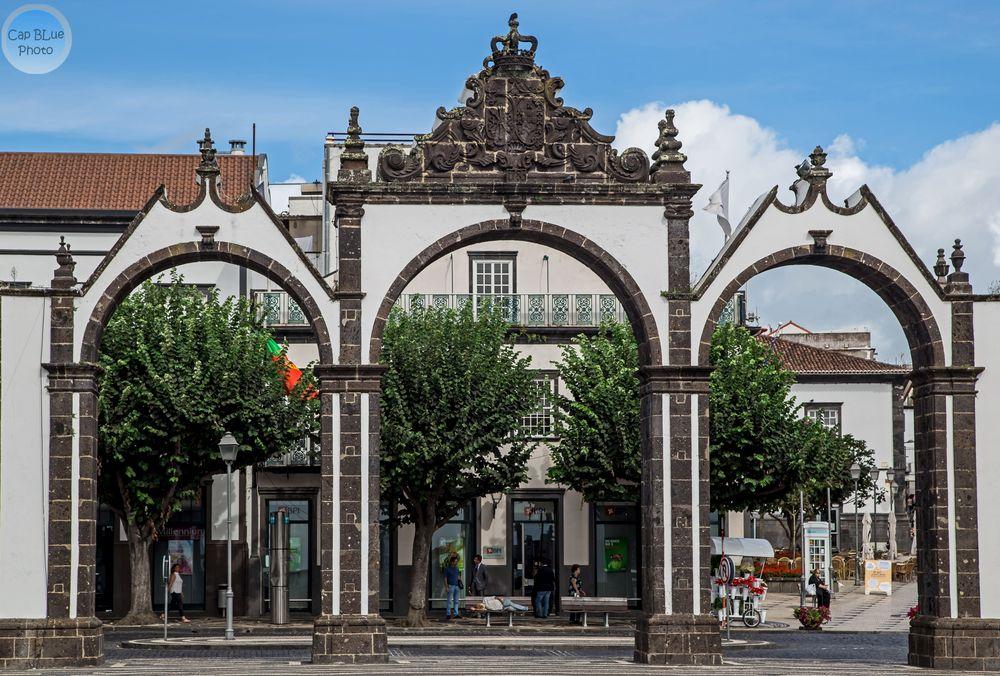 Stadttore von Ponta Delgada Azores