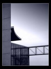 Stahl, Beton, Glas, Fluchtweg