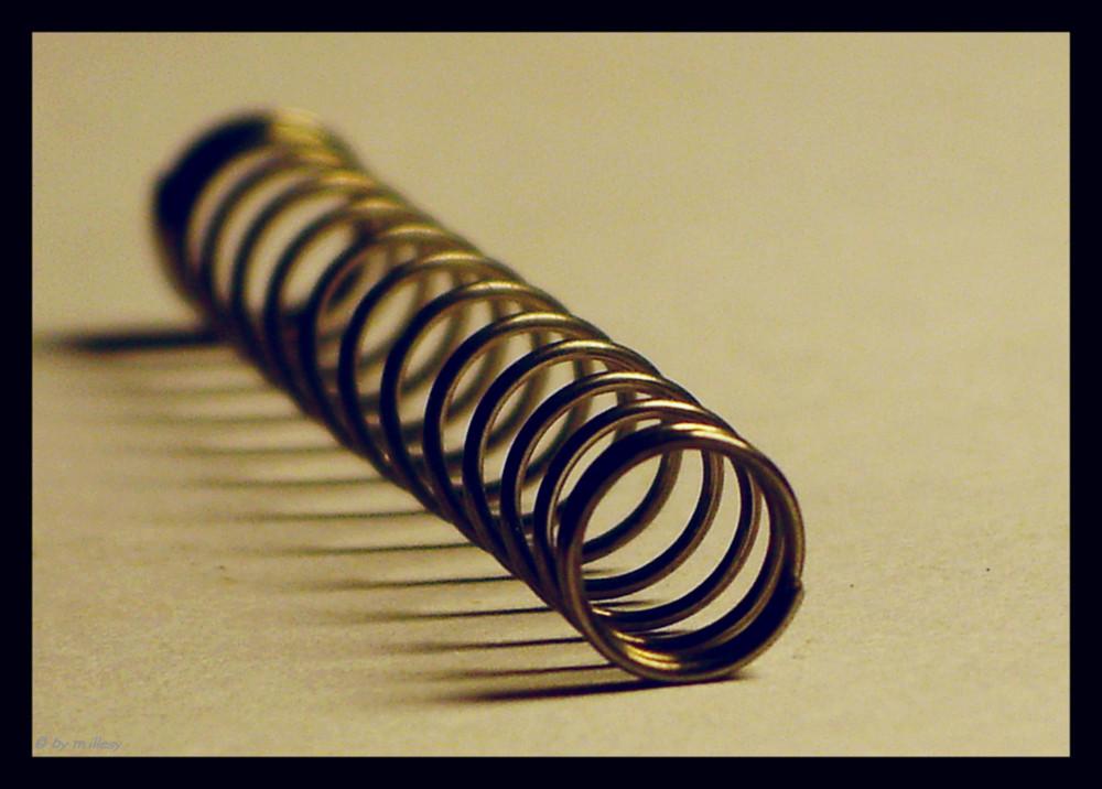 Stahlfeder 1cm Makro