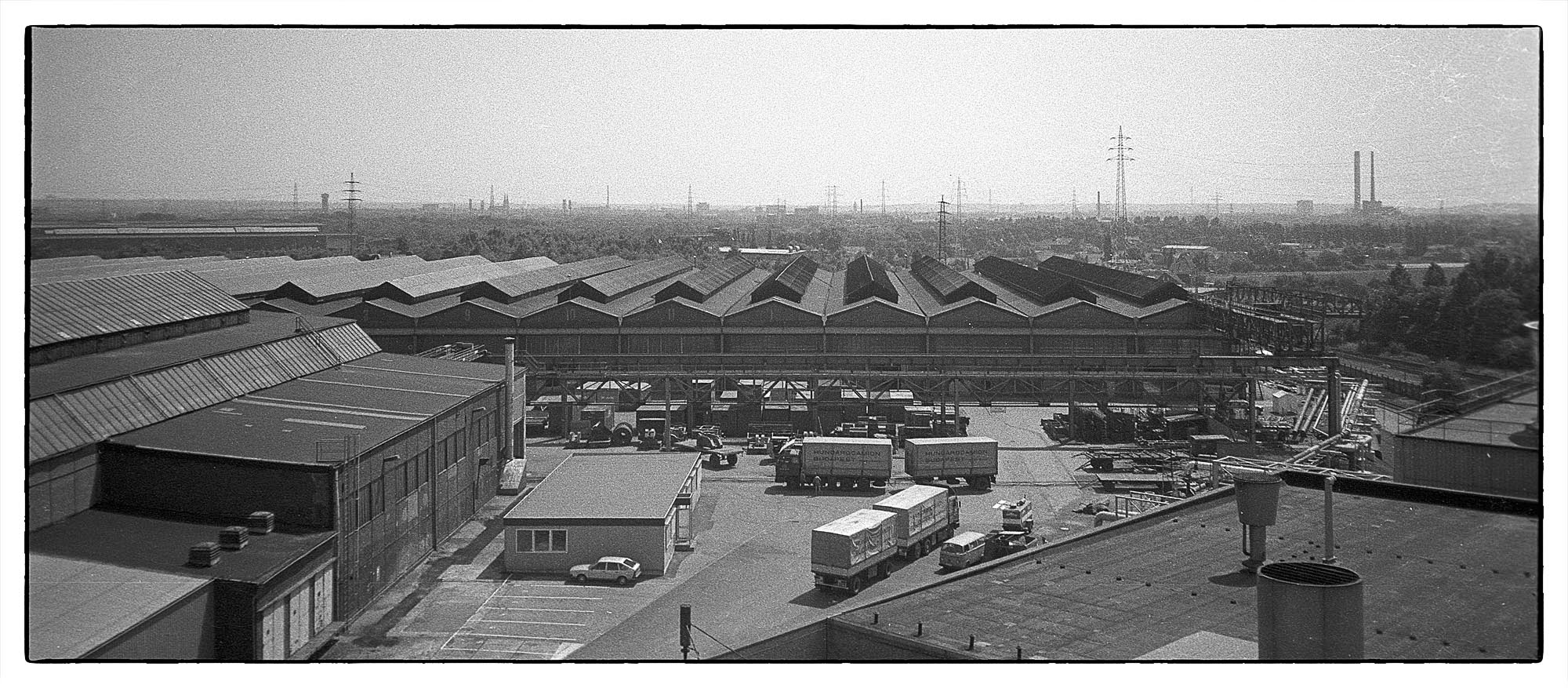 Stahlhandel Oberhausen Sterkrade, 1986