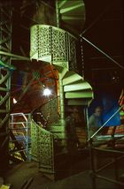 Stahltreppe zum Vierungsturm des Kölner Doms