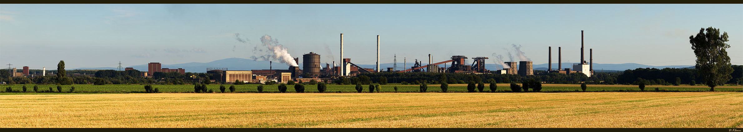 Stahlwerk Salzgitter [Pano]