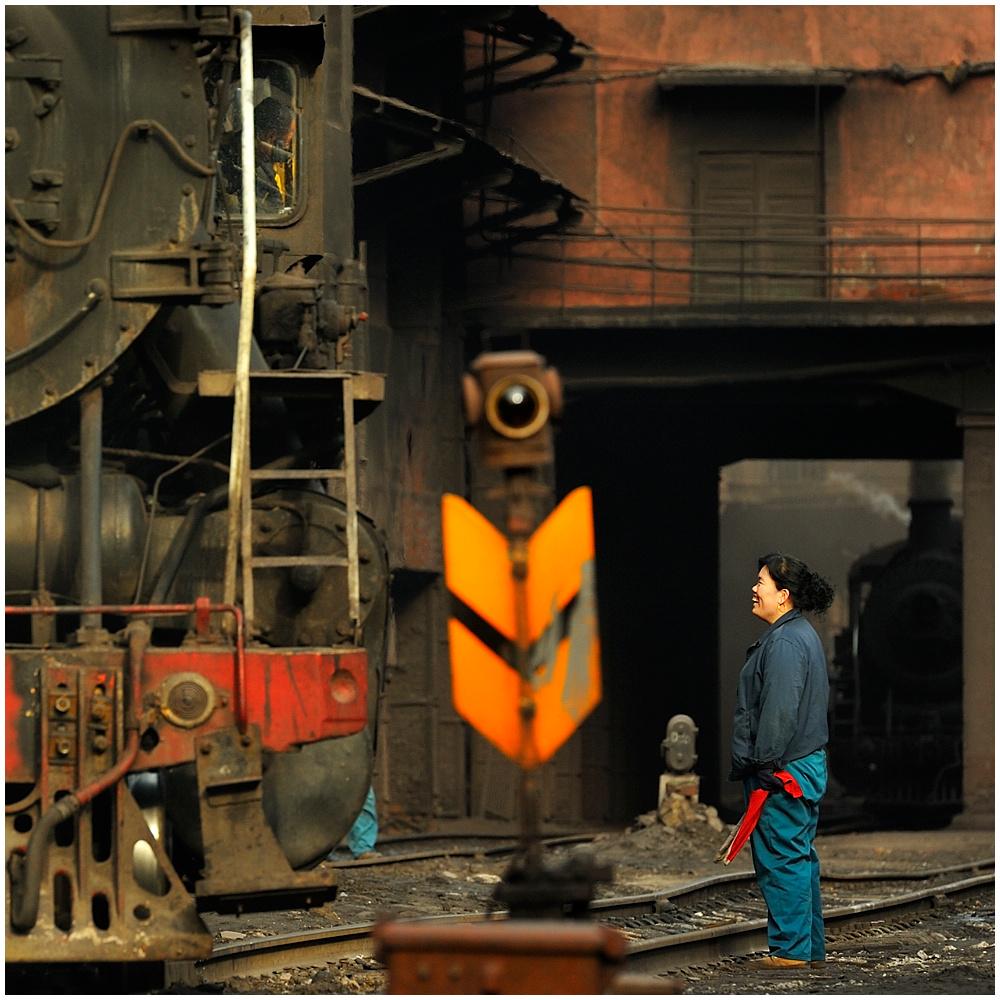 Stahlwerksimpressionen VII
