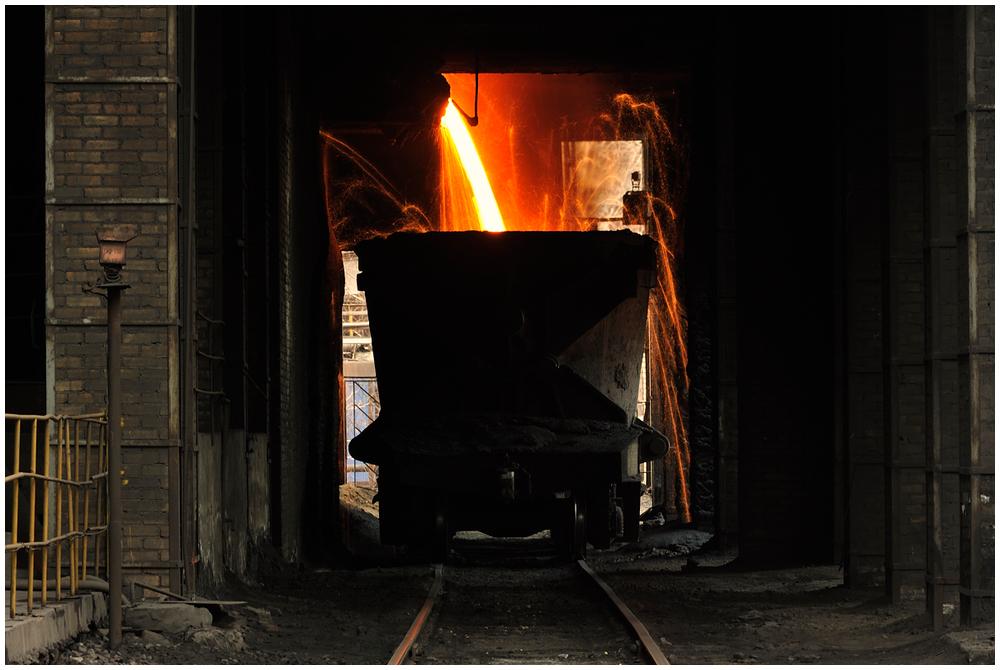 Stahlwerksimpressionen XVIII