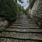 Stairs in Lecco