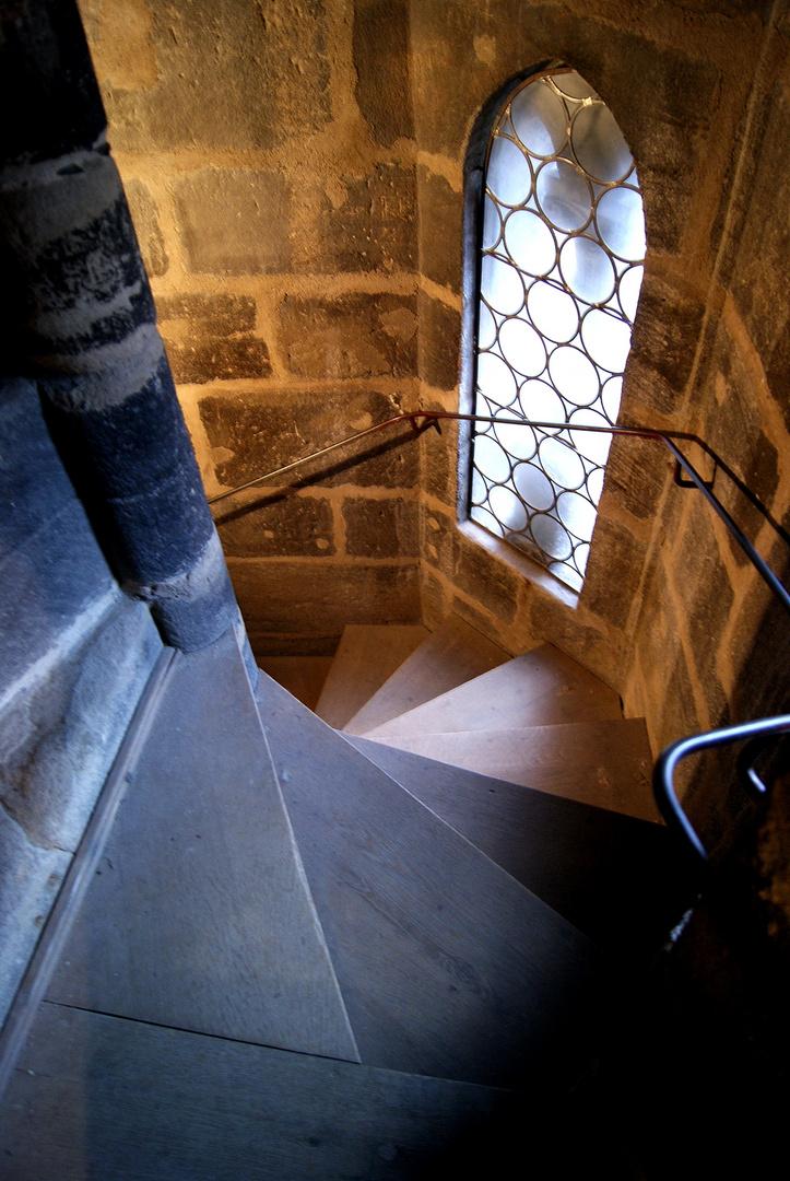 Stairs in St. Sebald, Nuremberg