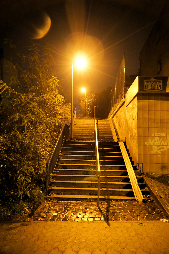 stairs to nowhere...