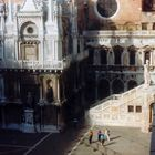 STAIRWAY OF THE GIANTS - courtyard of the Doge Palace, Venice