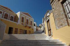 Stairway to heaven ... auf der Insel Symi in Griechenland