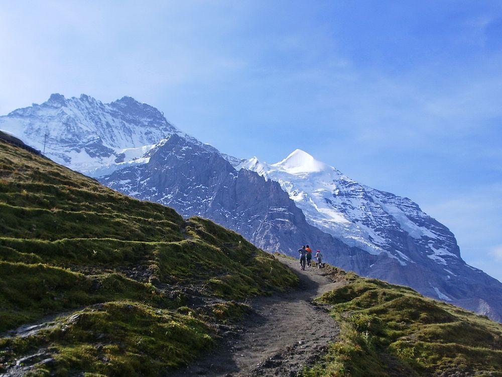 Stairway to Silberhorn...