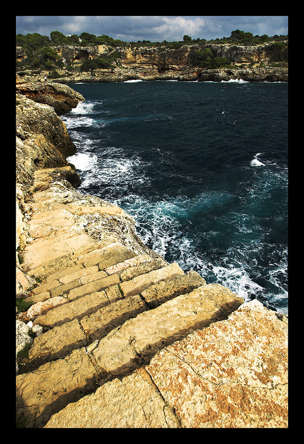 Stairway to the sea..
