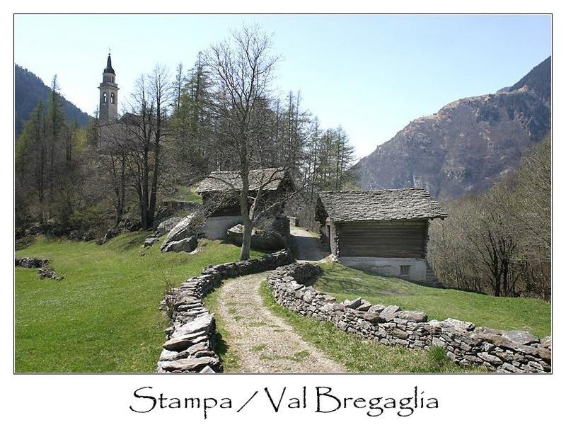 Stampa / Val Bregaglia