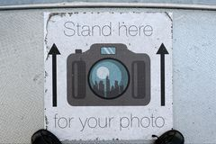 Stand here for your photo