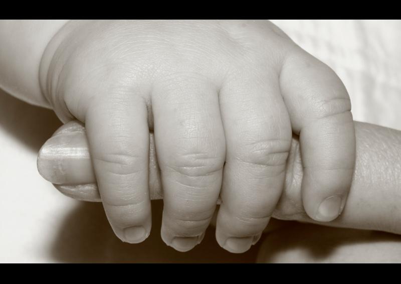 Standard Hand umklammert Finger Bild
