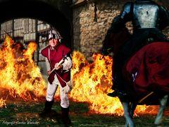 Standhaft gegen den Ritter