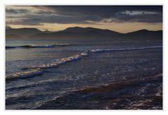 standing in the ocean................